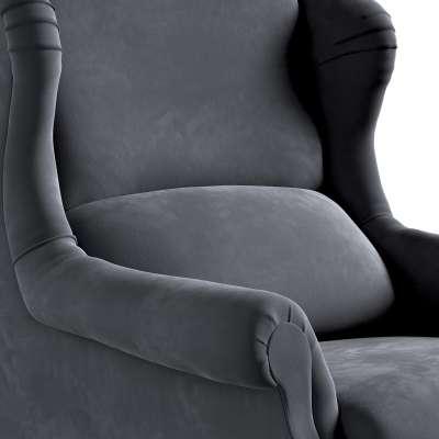 Fotel Unique w kolekcji Velvet, tkanina: 704-12