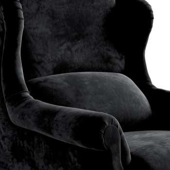 Křeslo Rest - čalouněné s volbou látky, ruční výroba v kolekci Velvet, látka: 704-17