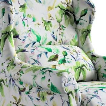 Křeslo čalouněné klasické, ruční výroba v kolekci Velvet, látka: 704-20