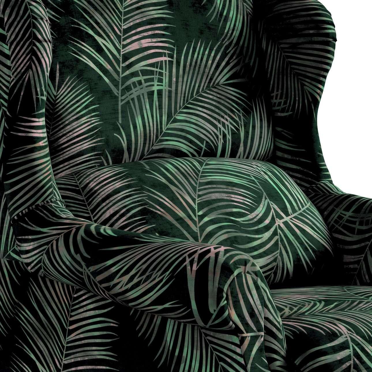 Křeslo Rest - čalouněné s volbou látky, ruční výroba v kolekci Velvet, látka: 704-21