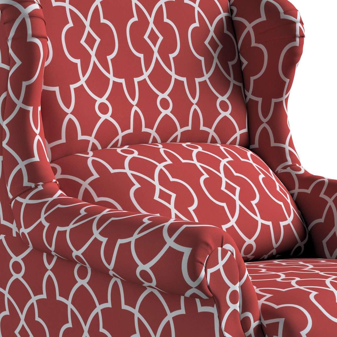 Kreslo čalúnené, ručne vyrábané V kolekcii Gardenia, tkanina: 142-21
