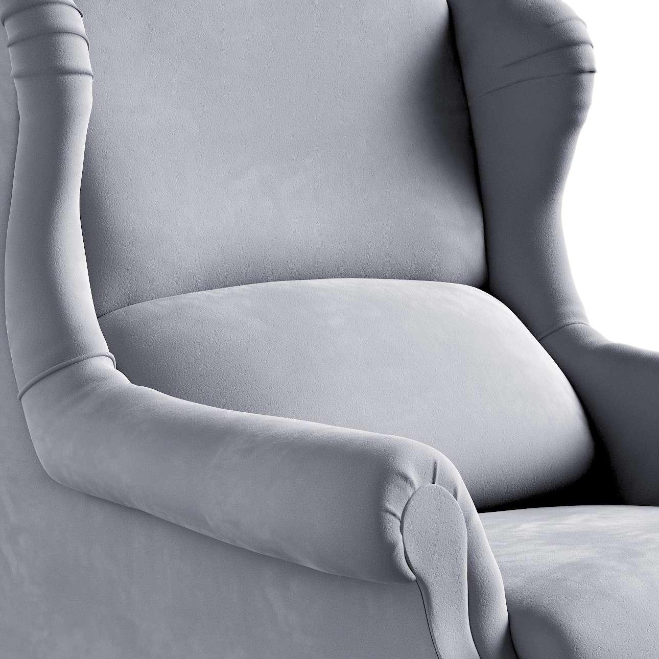 Fotel Willy w kolekcji Posh Velvet, tkanina: 704-24