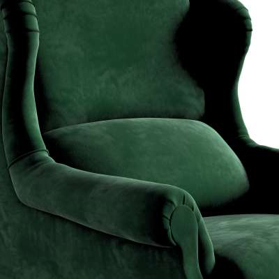 Fotel Willy 704-13 butelkowa zieleń Kolekcja Posh Velvet