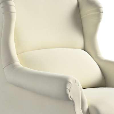 Fotelis  Willy 704-10 kreminė balta Kolekcija Posh Velvet