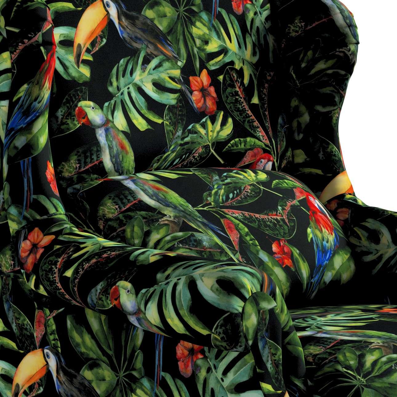 Fotel Unique w kolekcji Velvet, tkanina: 704-28