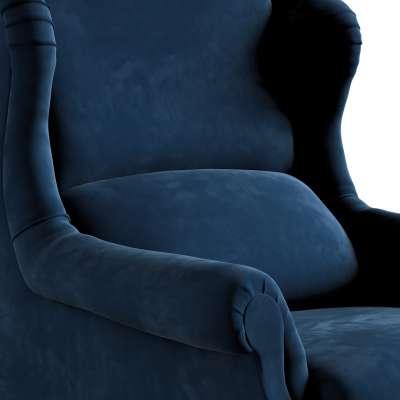 Fotelis  Willy 704-29 tamsi mėlyna Kolekcija Posh Velvet