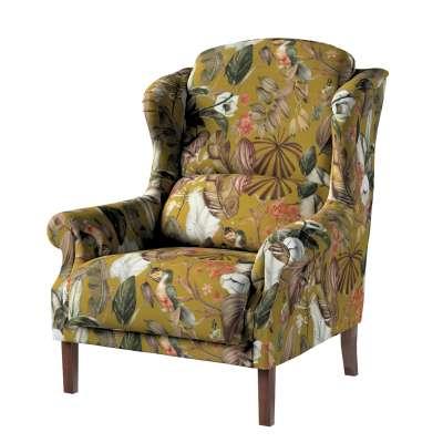 Fotel Unique w kolekcji Abigail, tkanina: 143-09