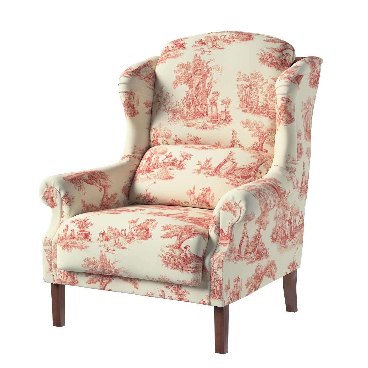 Fotel Unique w kolekcji Avinon, tkanina: 132-15