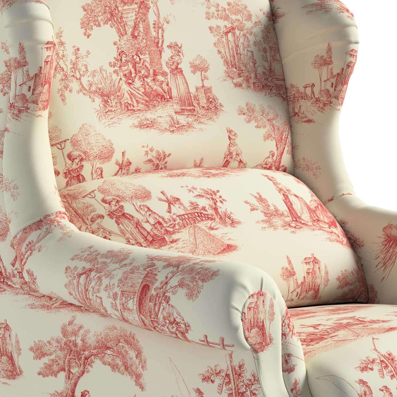 Fotel 85x107cm w kolekcji Avinon, tkanina: 132-15