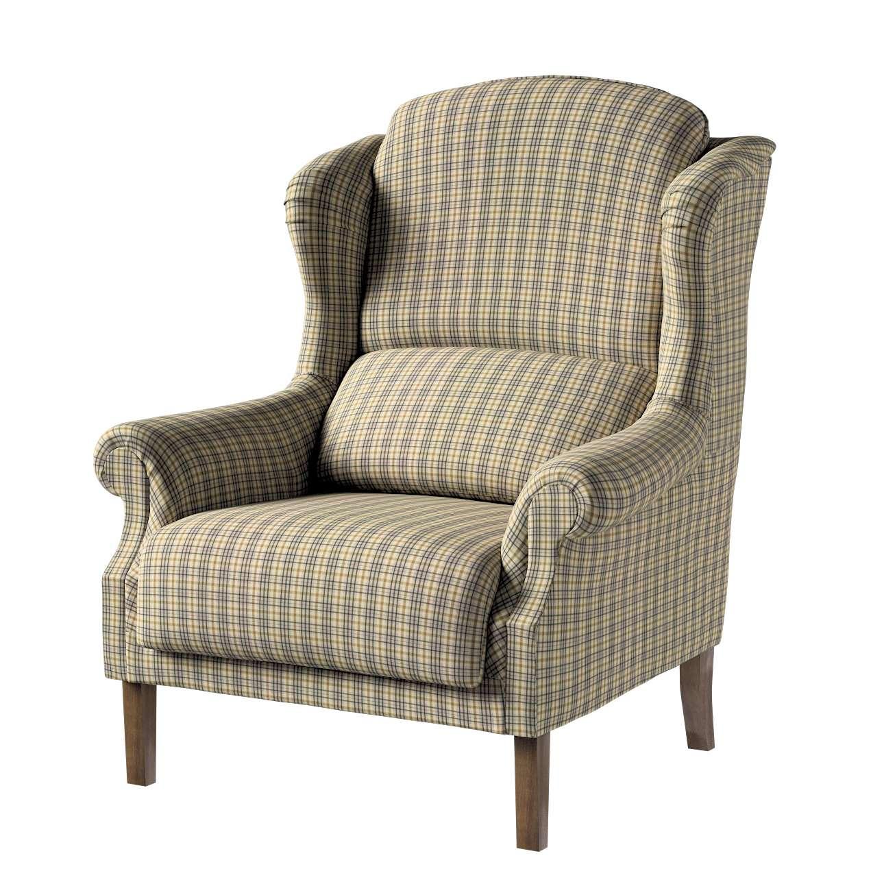 Fotel Unique w kolekcji Londres, tkanina: 143-39