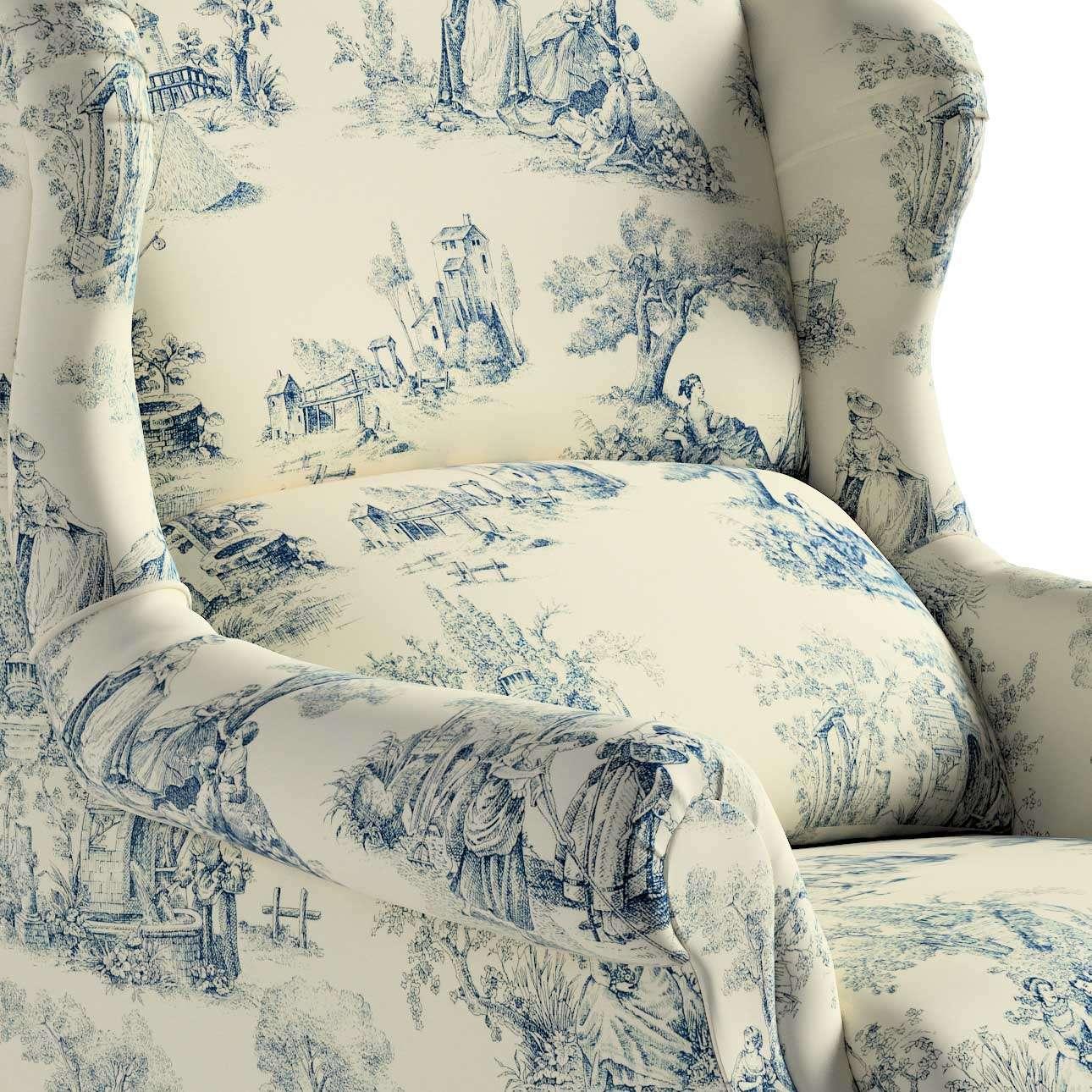 Fotel Unique w kolekcji Avinon, tkanina: 132-66