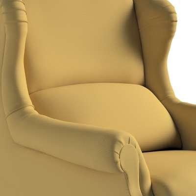 Fotel Willy 702-41 zgaszony żółty Kolekcja Cotton Story