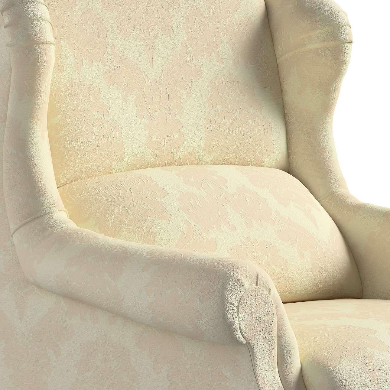 Fotel Unique w kolekcji Damasco, tkanina: 613-01