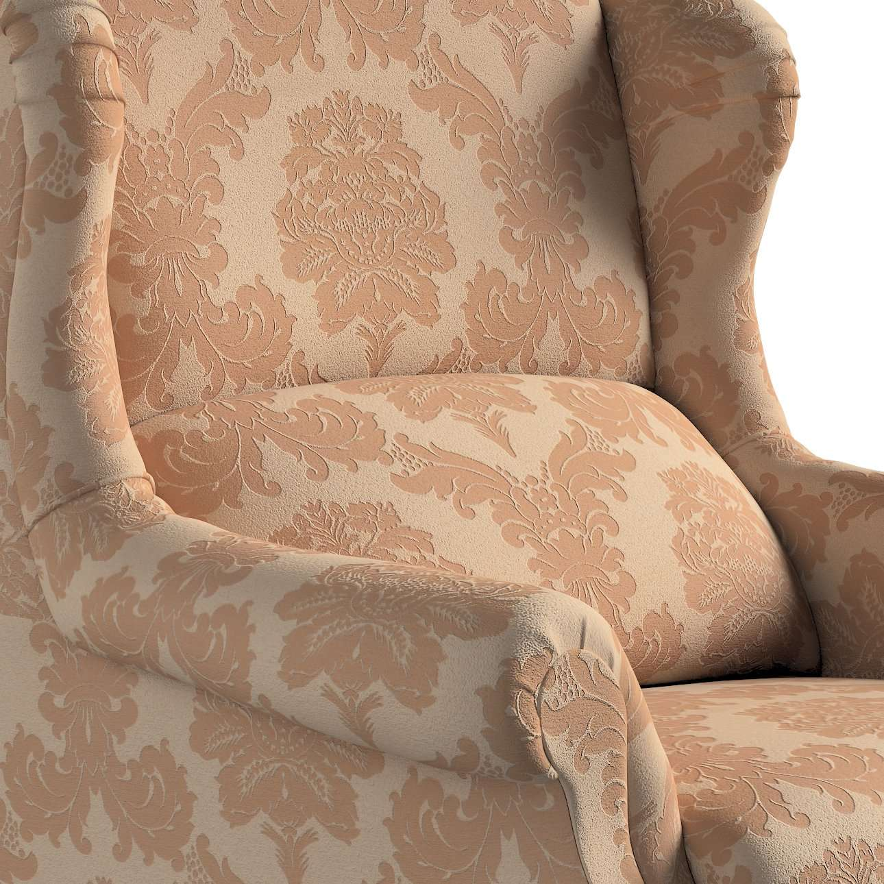 Stilingas Dekoria fotelis 63 x 115 cm kolekcijoje Damasco, audinys: 613-04