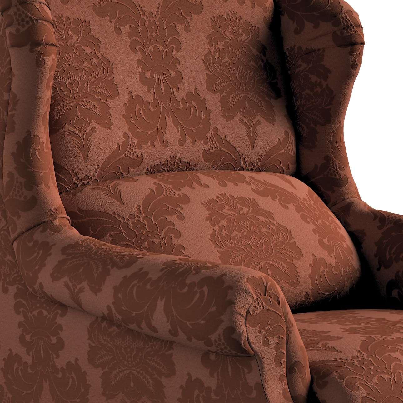 Fotel Unique w kolekcji Damasco, tkanina: 613-88