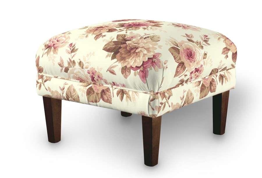Podnóżek do fotela 56x56x40 cm w kolekcji Mirella, tkanina: 141-06