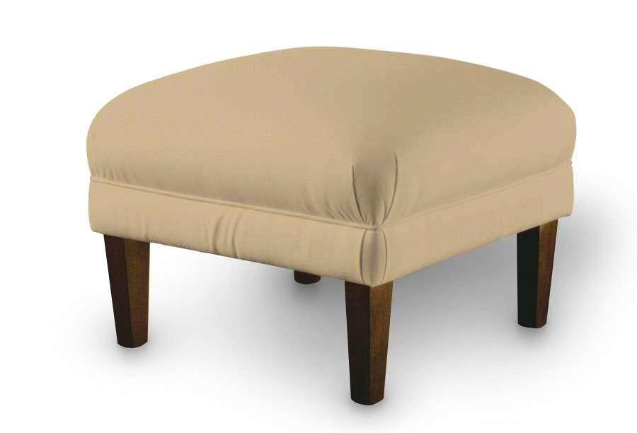 Podnóżek do fotela 56x56x40 cm w kolekcji Cotton Panama, tkanina: 702-01