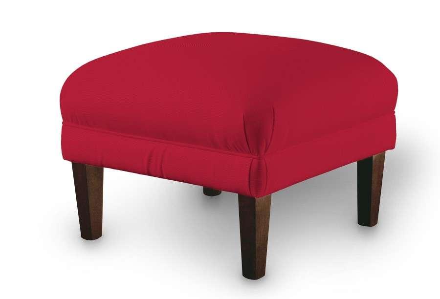 Podnóżek do fotela 56x56x40 cm w kolekcji Cotton Panama, tkanina: 702-04