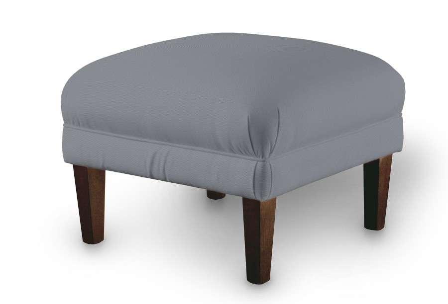 Podnóżek do fotela 56x56x40 cm w kolekcji Cotton Panama, tkanina: 702-07