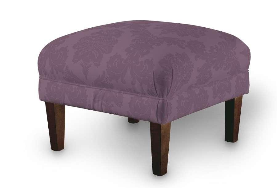 Podnóżek do fotela 56x56x40 cm w kolekcji Damasco, tkanina: 613-75