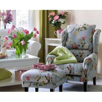 Podnóżek do fotela w kolekcji Londres, tkanina: 123-65