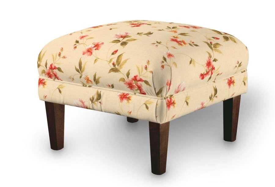 Podnóżek do fotela 56x56x40 cm w kolekcji Londres, tkanina: 124-05