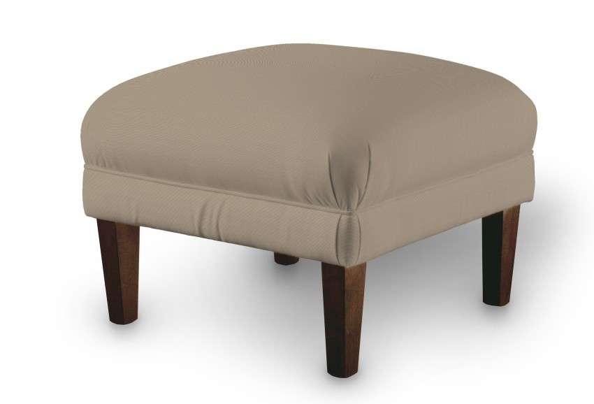 Podnóżek do fotela w kolekcji Cotton Panama, tkanina: 702-28