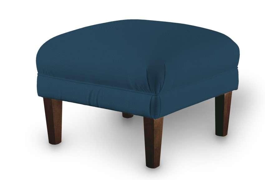 Podnóżek do fotela 56x56x40 cm w kolekcji Cotton Panama, tkanina: 702-30