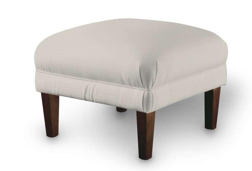 Fusshocker 56 x 56 x 40 cm von der Kollektion Cotton Panama, Stoff: 702-31