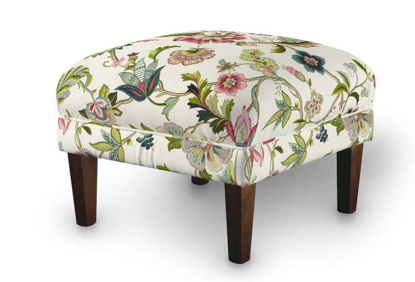 Dekoria fotelio pakojis-pufas 56 x 56 x 40 cm kolekcijoje Londres, audinys: 122-00