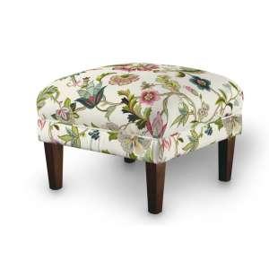 Podnóżek do fotela 56x56x40 cm w kolekcji Londres, tkanina: 122-00