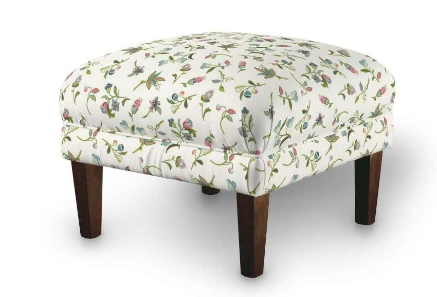 Podnóżek do fotela 56x56x40 cm w kolekcji Londres, tkanina: 122-02