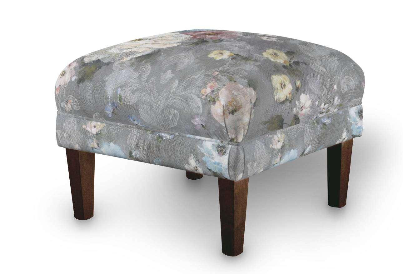 Podnóżek do fotela 56x56x40 cm w kolekcji Monet, tkanina: 137-81