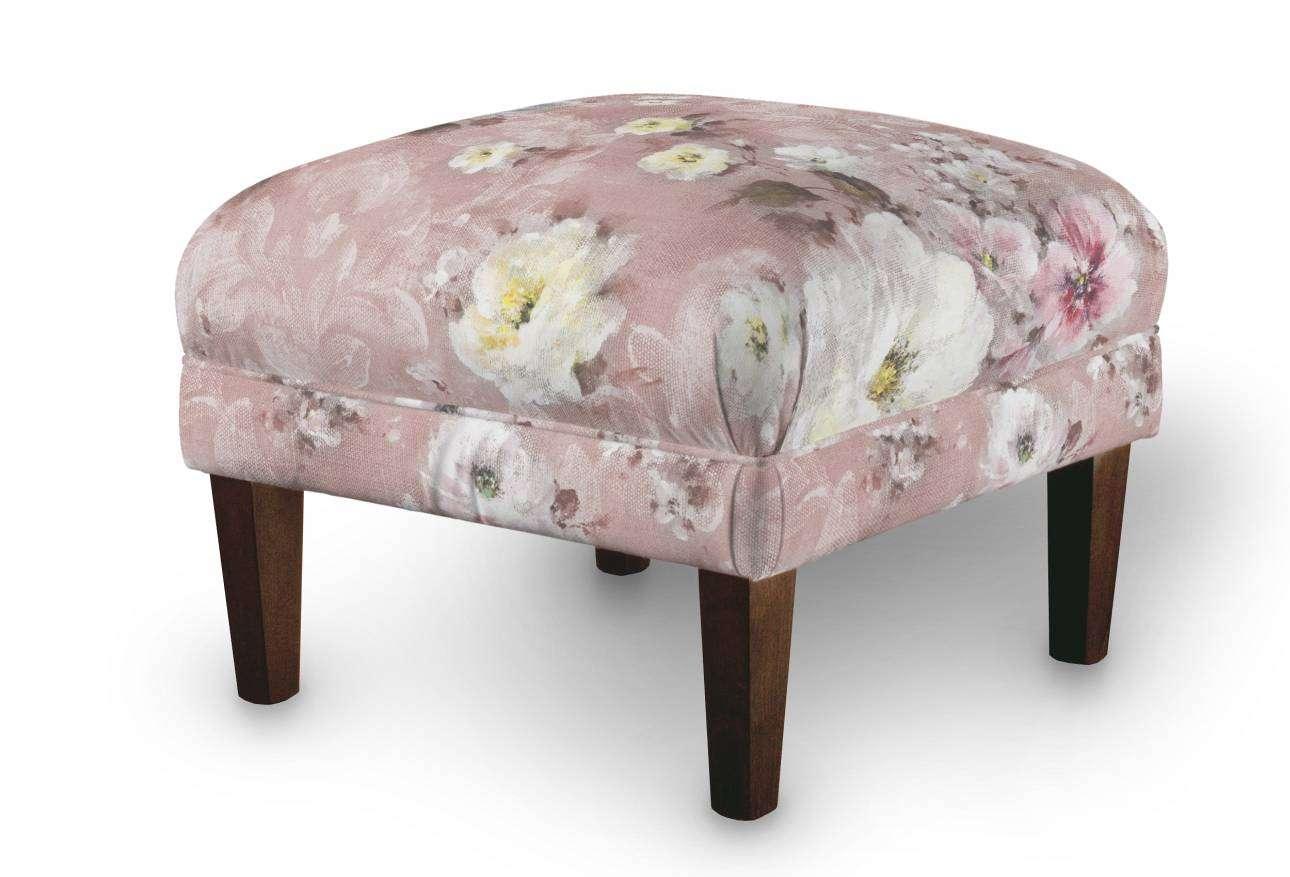 Podnóżek do fotela 56x56x40 cm w kolekcji Monet, tkanina: 137-83