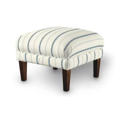 Dekoria fotelio pakojis-pufas 129-66 mėlynos juostelės dramblio kaulo fone Kolekcija Avinon