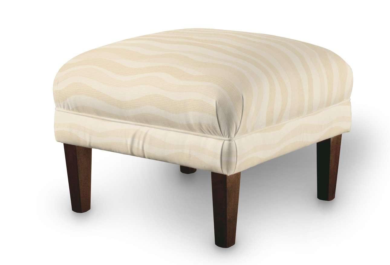 Podnóżek do fotela w kolekcji Damasco, tkanina: 141-76