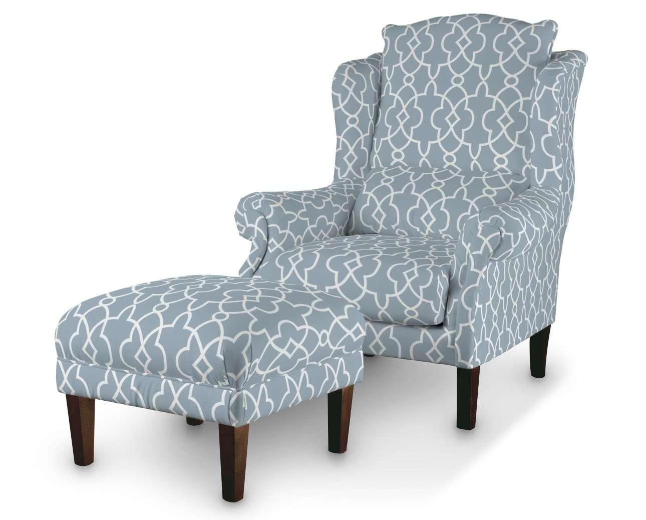 Podnóżek do fotela w kolekcji Gardenia, tkanina: 142-22