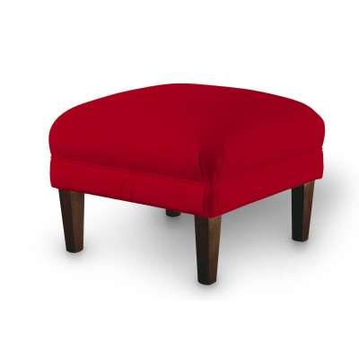 Podnóżek Charlie 704-15 intensywna czerwień Kolekcja Posh Velvet