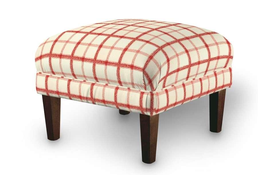 Dekoria fotelio pakojis-pufas 56 x 56 x 40 cm kolekcijoje Avinon, audinys: 131-15