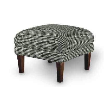 Podnóżek do fotela w kolekcji Black & White, tkanina: 142-77
