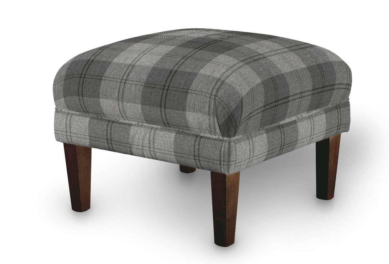 Podnóżek do fotela w kolekcji Edinburgh, tkanina: 115-75