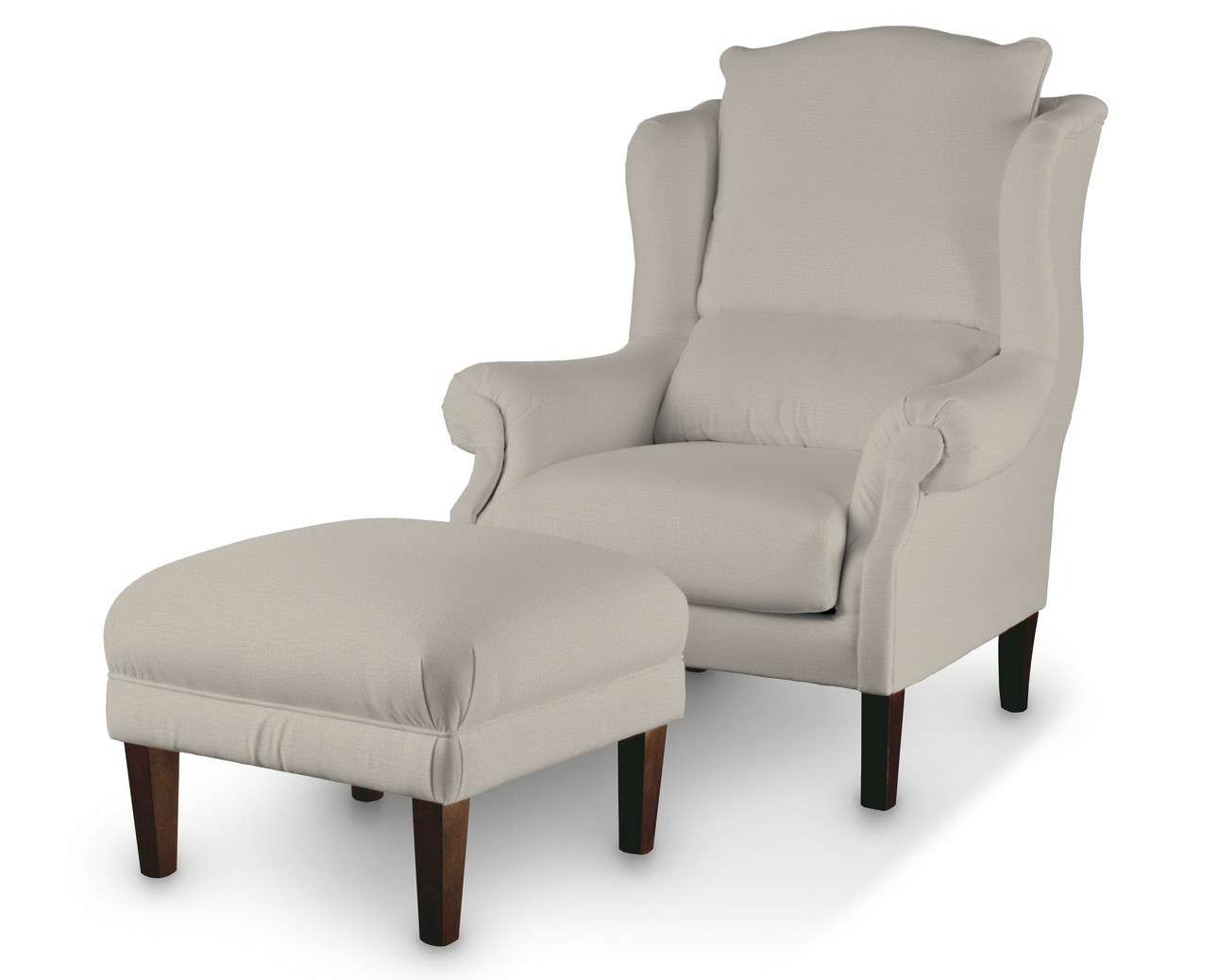Podnóżek do fotela w kolekcji Ingrid, tkanina: 705-40