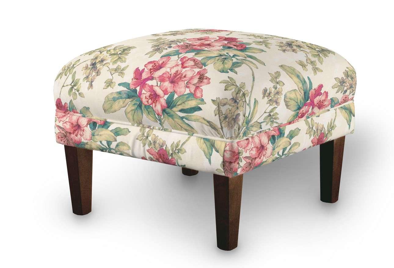 Podnóżek do fotela w kolekcji Londres, tkanina: 143-40