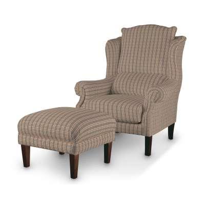Podnóżek do fotela w kolekcji Londres, tkanina: 143-39