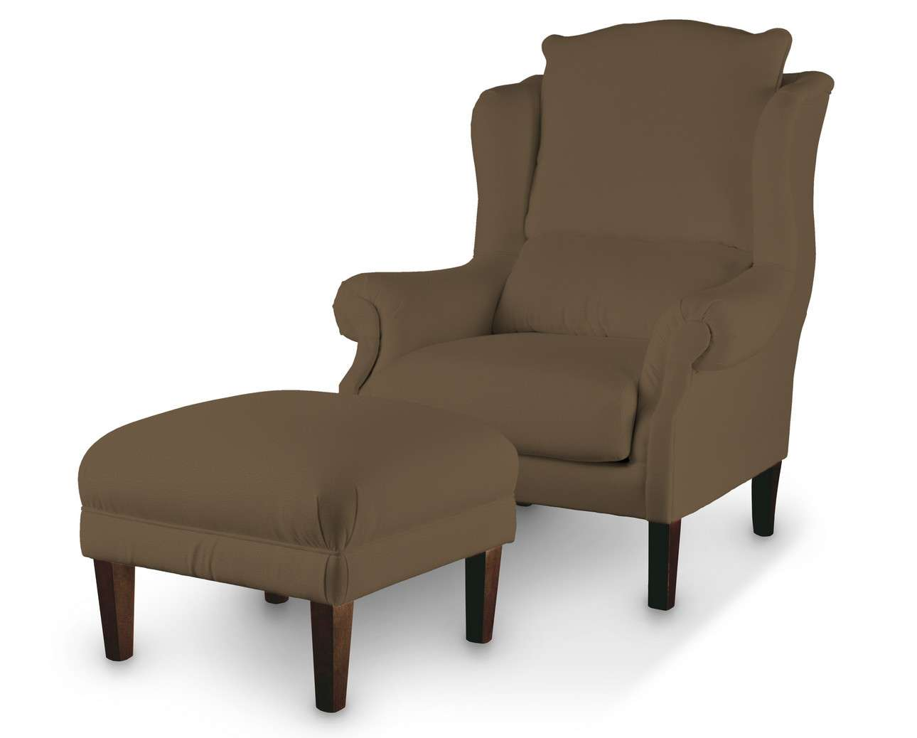 Podnóżek do fotela w kolekcji Living, tkanina: 160-94