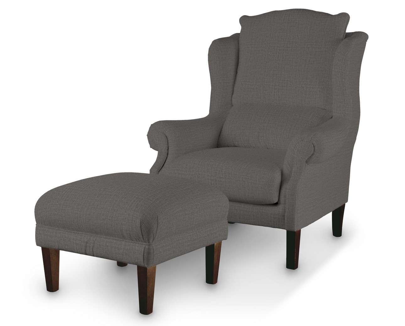 Podnóżek do fotela w kolekcji Living, tkanina: 161-16