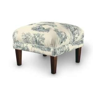 Dekoria fotelio pakojis-pufas 56 x 56 x 40 cm kolekcijoje Avinon, audinys: 132-66