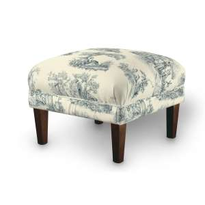 Podnóżek do fotela 56x56x40 cm w kolekcji Avinon, tkanina: 132-66