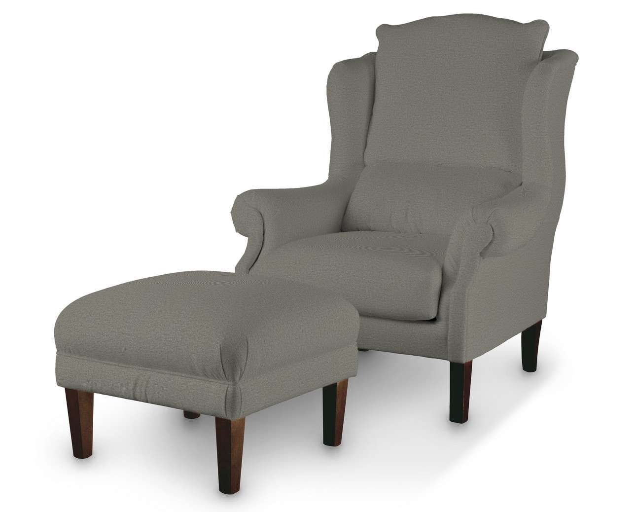 Podnóżek do fotela w kolekcji Etna, tkanina: 161-25
