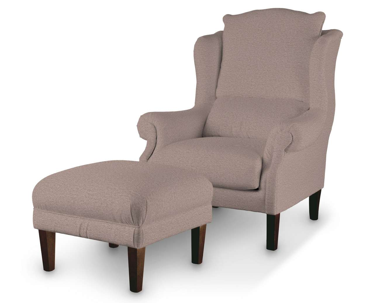 Podnóżek do fotela w kolekcji Madrid, tkanina: 161-88
